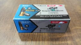 .22 LR Aguila, snipe subsonic, 60grn