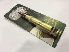 Töltény formájú sörnyitó 50mm kaliber