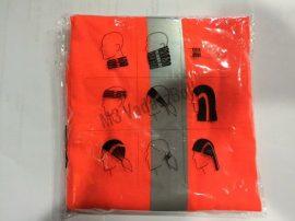 Narancssárga láthatósági nyakvédő (twister)