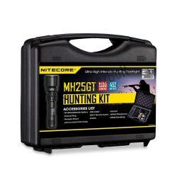 Nitecore Vadászlámpa Szett MH25GT Akkumulátoros USB CREE XP-L HI V3 (1000 lumen)