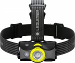 LEDLENSER MH7 outdoor tölthető LED fejlámpa 600lm/200m 1xLi-ion, fekete/sárga
